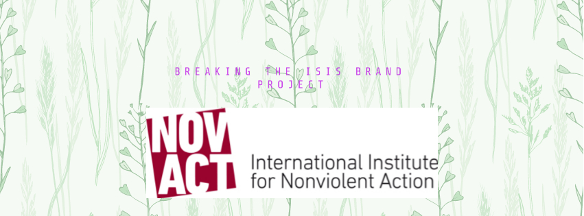 NOVACT International nstitute for Nonviolent Action Logo Featured