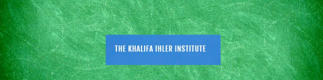 The Khalifa Ihler Institute Logo Featured